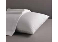 "T-220 72"" x 84"" x 17"" Cal King White 100% Cotton Fitted Sheets"