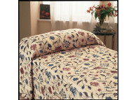 "71"" x 102"" Martex Home Terrace Bedspread, Multicolor, Fitted Twin Size"