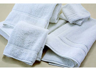 "12"" x 12"" 1 lb. White Martex Sovereign Wash Cloths"