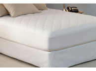 "38"" x 80"" Restful Nights Platinum Mattress Pads with Fitted Skirt, 8.8 Oz., Twin Size"