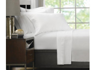 "42"" x 38"" Ultra Touch Microfiber Queen Size White Pillow Cases"